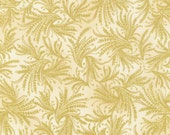 Egyptian Fabric, Valley of the Kings Fabric - Wheat Sprays by Robert Kaufman - SRKM 16287 14 Natural Cream - Half yard Price