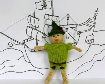 Peter Pan Knitting Pattern: Knit a Peter Pan Doll