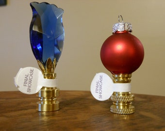 Christmas Tree Decoration Lamp Finials