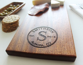 Personalized Cheese Board, Couples Cutting Board, Christmas Gift, Wedding, Anniversary Gift, Engagement Gift, Gift For Her, Husband Gift