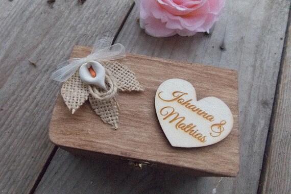 Items Similar To Ringbox Orcid Wedding Rings Vintage Wedding Decoration W