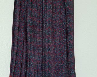 ON SALE - Vintage, Leslie Fay skirt, Petite