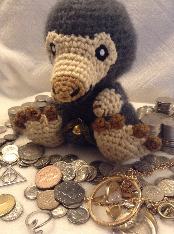 Amigurumi Niffler : Harry Potter Inspired: Niffler from Fantastic Beasts and Where
