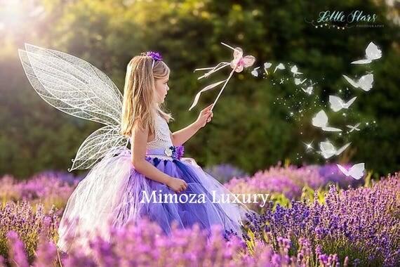 Lavender Navy Cream Flower girl dress, tutu dress , princess dress, crochet top tulle dress, knit top tutu dress lavender lilac navy cream