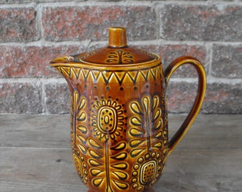 Teapot, Teapot, Vintage Teapot, Ceramic Teapot,  Tea Time, Decorate Teapot, Tea, Made In Japan,