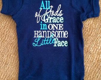 All of God's Grace Onesie