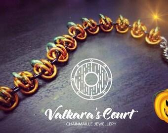 Orbital Pumpkin Bracelet