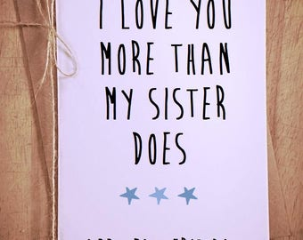 Funny fathers day card, father's day greeting card, funny greeting card, card for him, card for dad, funny card for dad, greeting cards,