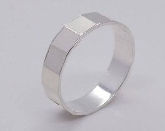 silver wedding ring wedding rings men womens wedding rings silver wedding band - Wedding Ring Man