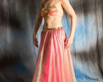 Princess Peach and Gold Cabaret Costume