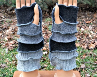 Arm Warmers, Fingerless Gloves, Texting Gloves, Driving Gloves, Hand Warmers, Wrist Warmers, Mittens, Recycled Sweaters, Winter Accessories