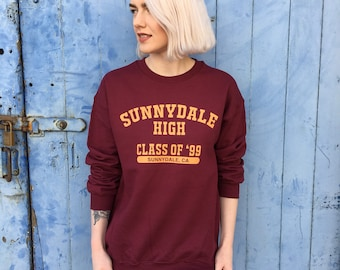 Sunnydale High Varsity Style Sweatshirt | Buffy the Vampire Slayer