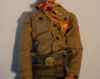 Vintage 1974 Kenner Boy Scout