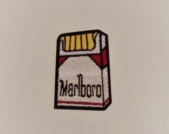 Marlboro Cigarettes  Iron on Patch