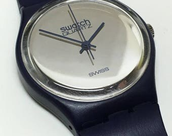 Extremely Rare Vintage Swatch Watch GN101 1983 and Keith Haring  Milles Pattes GZ103 1985