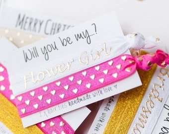 Will you be my Flower Girl - Will you be my Bridesmaid - Will you be my Maid of Honour - Flower Girl Proposal - Bridesmaid Proposal