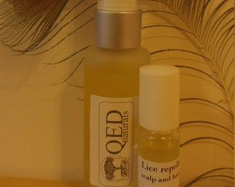 Lice and nits scalp treatment/ louse and nit repellent/insect repellent/vegan nit treatment