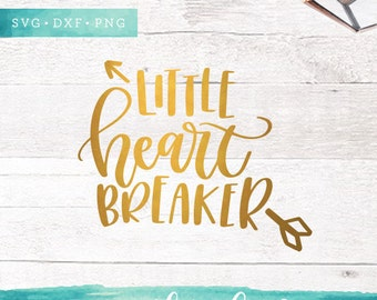 Valentine Svg Files / Little Heart Breaker SVG Cutting Files / SVG for Cricut Silhouette / Heart Svg SCAL Commercial Use / Love Svg