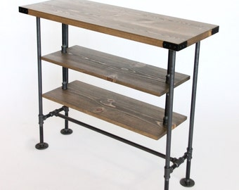 TV Stand, Tall TV Console, Media Console, Entertainment Center, Industrial  Style,
