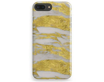 Gold Marble iPhone 7 Case Stone iPhone 6 Cover Samsung Galaxy Style Case iPhone 6S Plus Case Xperia Z Marble Case iPhone 5S Cover iPhone SE