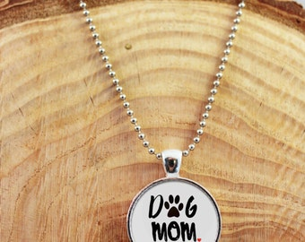 Dog Necklace, Dog Pendant, Dog Mom, Dog Lover, Dog lover gift, Dog Lovers jewelry, Dog Mom Jewelry, Dog Mom Pendant, Dog Mom Necklace