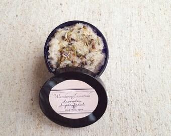 Lavender Sugar Scrub l Handmade l Organic Sugar Scrub l Exfoliating Sugar l Natural