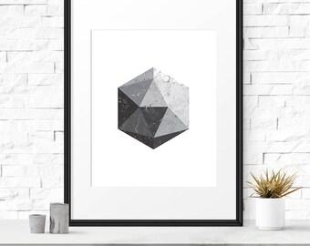 Abstract Art, Geometric Print, Printable Wall Art, Graphic Poster, Scandinavian Art, Modern Art, Scandinavian Print, DIGITAL DOWNLOAD POSTER
