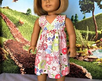 18 inch doll clothes - Salina dress for American Girl - fits 18 inch dolls such as the American Girl, Our Generation and others.