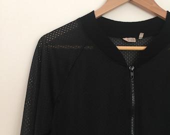vintage mesh health goth jacket