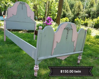 Sold Antique Twin bed