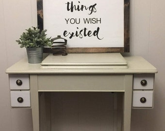 Create the Things You Wish Existed Wood Sign