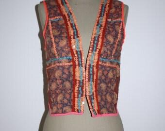 Vintage Sequins vest