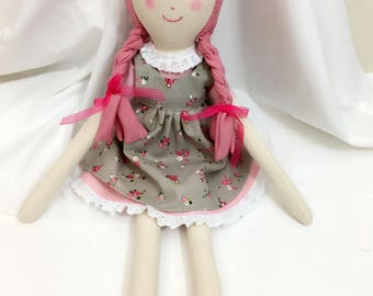 Handmade doll /rag doll/cute doll/girldoll
