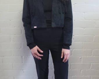 Midnight Fringe Jacket