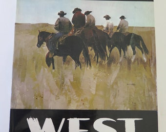 Peter McIntyre's West, A Sunset Pictorial, October 1970, Lane Magazine & Book Company, 56 Color Plates, Vintage Travel Art Book