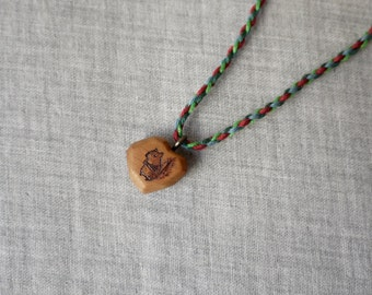 Waiting Squirrel necklace