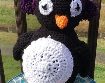 Stuffed Crochet Penguin