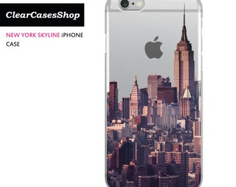 New York Skyline iPhone 7 case, Also Available for iPhone 7 Plus, iPhone 6, iPhone 6 Plus, iPhone 6s Plus, iPhone 5/S/SE, S7 & S7 Edge