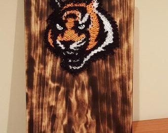 Cincinnati Bengals String Art