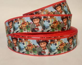 "1/3/5/10 Yards - 1"" Pee Wee's Playhouse Grosgrain Ribbon DIY Key Fob, Lanyard, Pet Supplies"