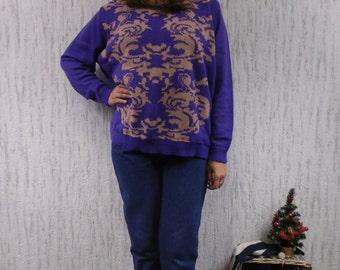 Vintage oversized sweater pullover