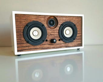 Red Oak Bluetooth Speaker => Bluetooth 4.0 => Made by Order using reclaimed wood =>  FREE SHIPPING !!!