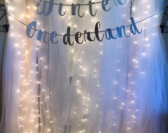 Winter Onederland banner