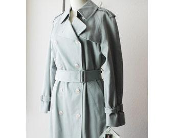 NOS London Fog Gray Trench Coat