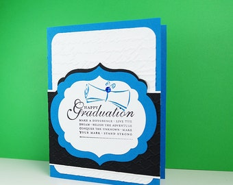 Graduation From College - Gift For Grad - Card For Graduate - Grad Card - High School Graduation - Congratulations Card - Blank Cards