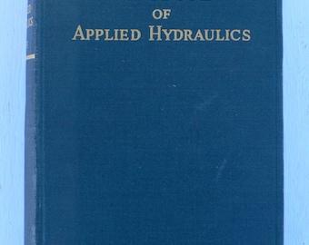 vintage textbook,Handbook of Applied Hydraulics, 1942, from Diz Has Neat Stuff