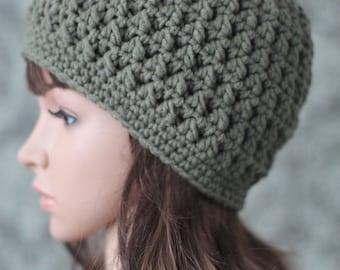 Crochet PATTERN - Crochet Cable Hat - Crochet Hat Pattern - Crochet Patterns for Women - Includes 7 Baby Toddler Child Adult Sizes - PDF 379