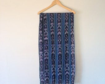 Wondrously Colorful Scarf Variegated Cotton Weave