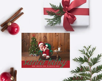 Baby Christmas Cards - PRINTED