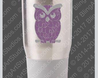 Owl Family Decal Etsy - Owl custom vinyl decals for car